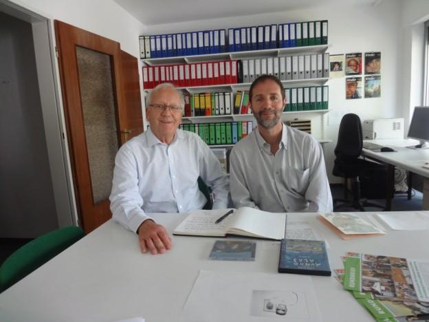 Klaus Schubert und Nicolás Rosenthal