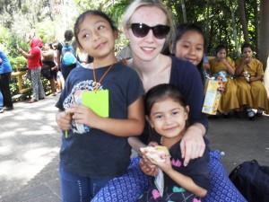 Besuch im Zoo mit Nina